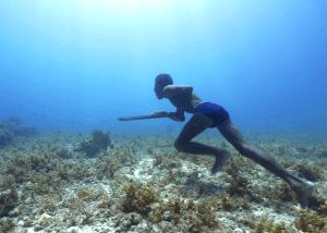 Chasseur sous marin Bajau